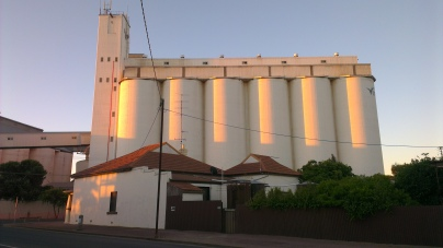 Silos at Wallaroo